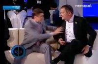 Кириленко и Колесниченко подрались у Шустера