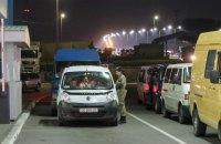 На кордоні з Польщею на в'їзді в Україну виникли великі черги автомобілів