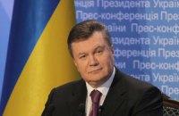 """Янукович проводит переговоры с Президентом Латвии """"с глазу на глаз"""""""