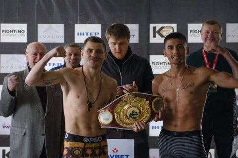 Украинец Беринчик защитил титул интернационального чемпиона WBO