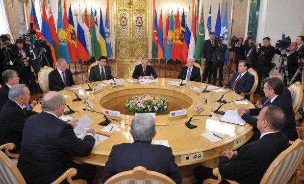 Путин собрал глав государств СНГ на неформальную встречу