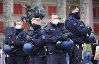 У Берліні під час акцій на 1 травня постраждали п'ятеро поліцейських
