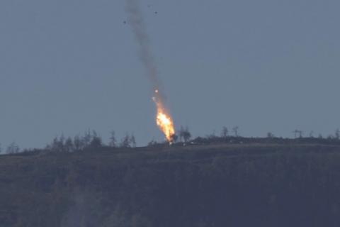 Reuters: США считают, что Су-24 был сбит над Сирией
