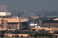 У Багдаді неподалік посольства США впала ракета