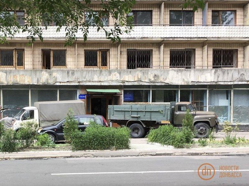 Захоплені гуртожитки ДонНУ в Донецьку