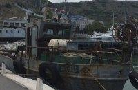 """""""Суд"""" в Крыму оштрафовал капитана украинского судна ЯМК-0041 и отпустил"""
