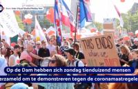 В Амстердамі пройшов багатотисячний протест через ковід-сертифікати