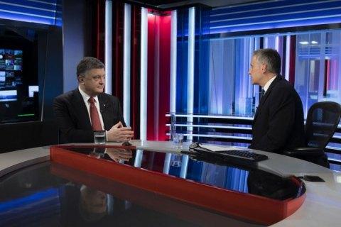На Донбассе идет настоящая война, а не замороженный конфликт, - Порошенко