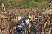 На Сумщине упал легкомоторный самолет, пилот погиб