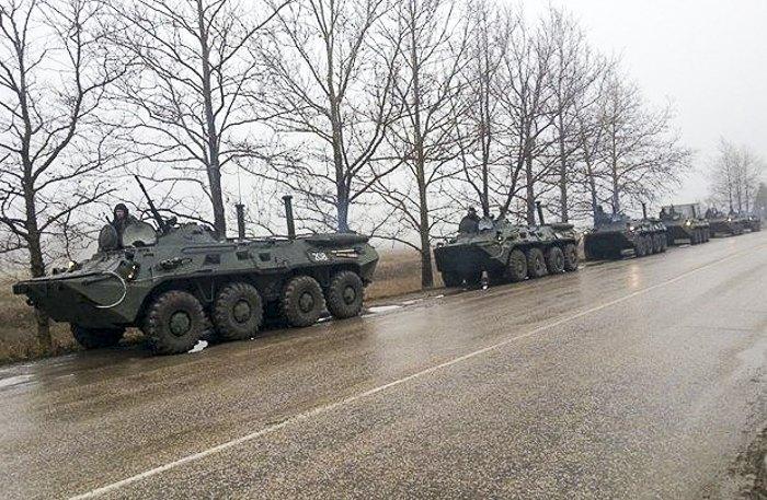 Военная техника, поселок Уютное, Крым