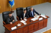 Зеленский прогнал секретаря горсовета Борисполя с официальной встречи