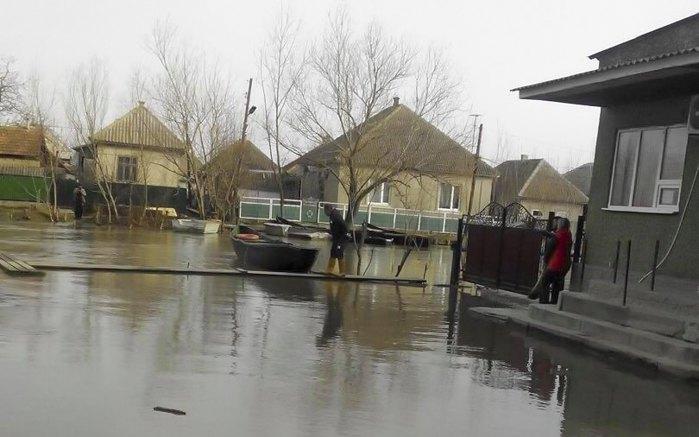 Дунай затопил половину Вилково, апрель 2018