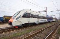 Крюківський завод показав новий дизель-поїзд для експреса в Бориспіль