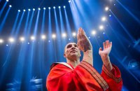 Боксерский халат Владимира Кличко ушел с аукциона за $215 тысяч