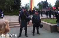 В Николаеве задержали 8 человек с оружием