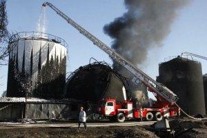 Яценюк отчитал министра экологии за непосещение места пожара под Васильковом (обновлено)