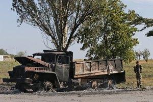 Блокпосты в Мариуполе подверглись артобстрелу