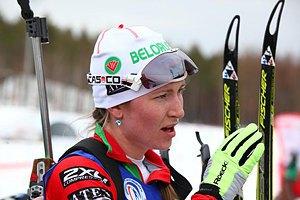 Домрачева выиграла спринт на последнем этапе Кубка мира