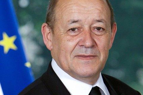 Голова МЗС Франції відвідає Україну 23 березня