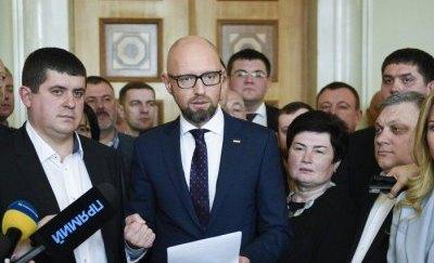 «Придумал лично Яценюк»: «НФ» страхует Верховную Раду от роспуска