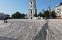 На Софійській площі у Києві влаштували дрифт, мерія поскаржилась в поліцію (оновлено)