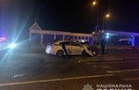 На Одесщине патрульное авто попало в аварию: один человек погиб, трое травмированы