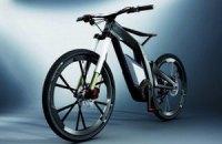 Audi выпустил велосипед E-Bike