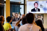 Обнародованы официальные результаты первого тура президентских выборов во Франции