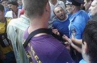 """Противники """"языкового закона"""" в Харькове пошли на штурм горсовета"""