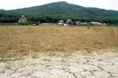 ВКрыму из-за засухи введен режим чрезвычайной ситуации