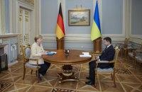 Меркель отримала український орден Свободи