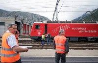 Столкновение поездов в Швейцарии: 30 пострадавших