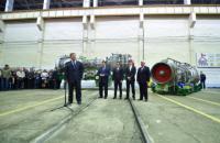 """Порошенко відвідав випробування нової турбіни на ДП """"Зоря-Машпроект"""""""