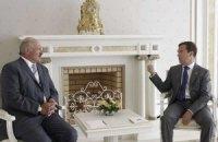 Медведев и Лукашенко проводят встречу в Горках