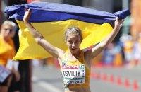 Алина Цвилий с рекордом Украины стала второй на ЧЕ в спортивной ходьбе на 50 км