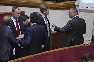 Депутаты переругались из-за Тимошенко