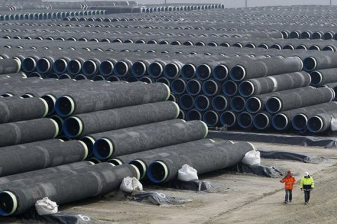 """""""Газпром"""" заявив про готовність """"Північного потоку-2"""" на 50%"""