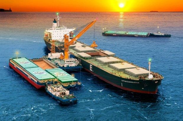 """Сучасний вантажний флот компанії """"Нібулон"""""""