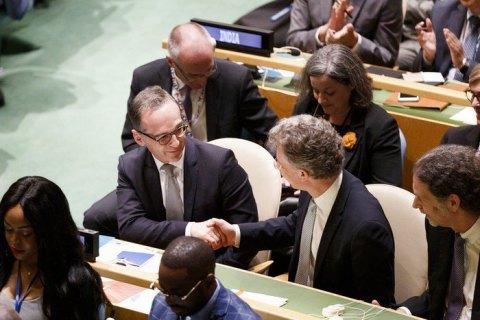 Німеччину обрано членом Ради Безпеки ООН