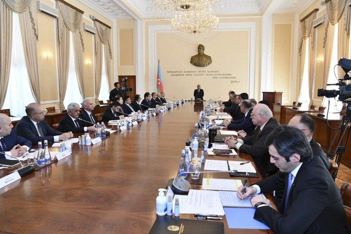 Заседание Оперативного штаба при Кабинете Министров Азербайджанской Республики