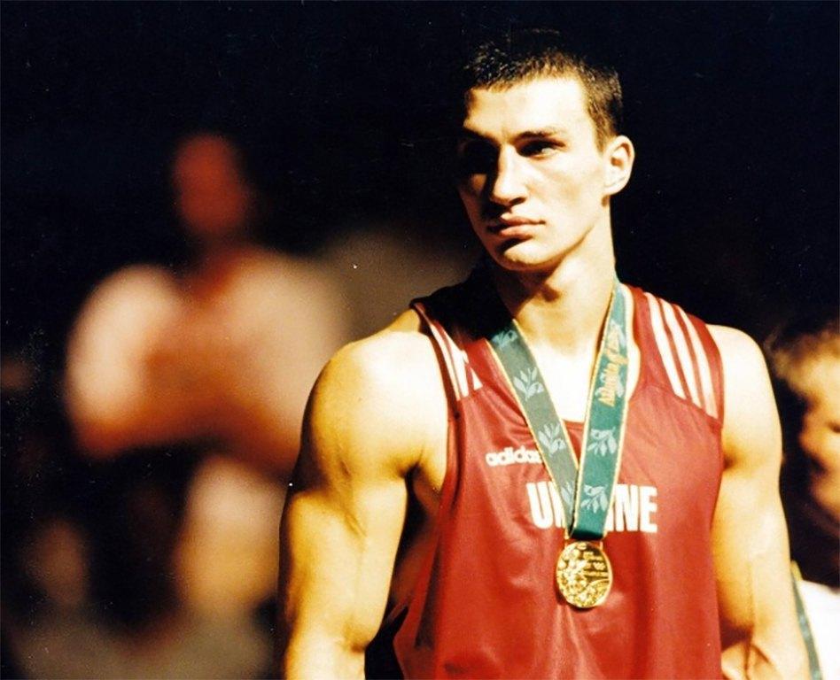 Владимир Кличко на Олимпиаде-96