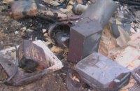 У Чернігівській області дитина підпалила будинок, граючи з сірниками