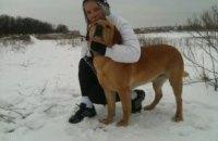 Тимошенко устроила фотосессию с собакой