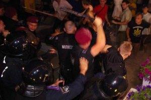 За побиття активістів на концерті Ані Лорак в Одесі звільнили 5 міліціонерів