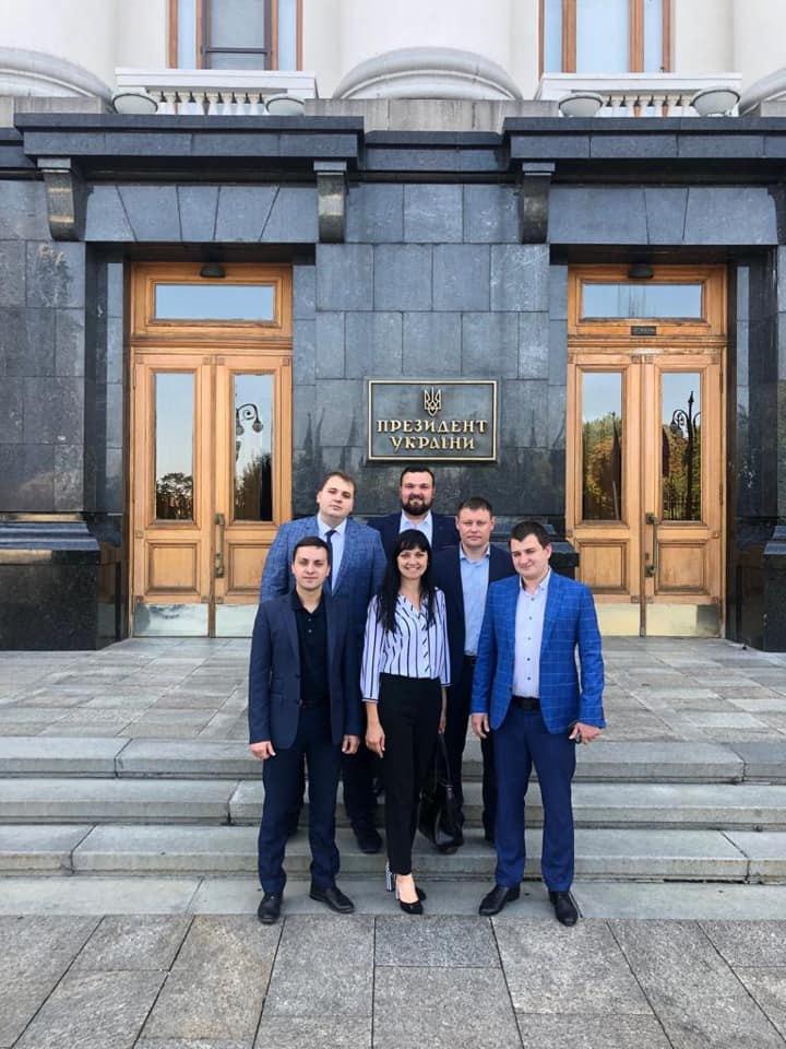 Антон Швачко з колегами-народними депутатами