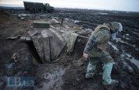 Ночью боевики обстреляли позиции военных из минометов запрещенного калибра
