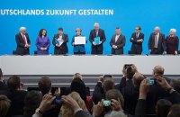 В Берлине начали новые коалиционные переговоры