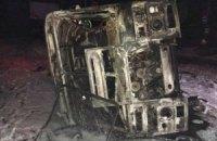 У Донецьку джип бойовиків протаранив автобус: є жертви