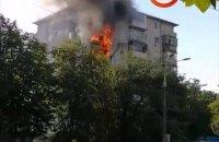 Масштабный пожар в многоэтажке в Киеве ликвидирован