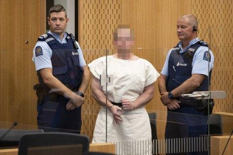 Подозреваемый в теракте в мечетях Новой Зеландии не признает своей вины